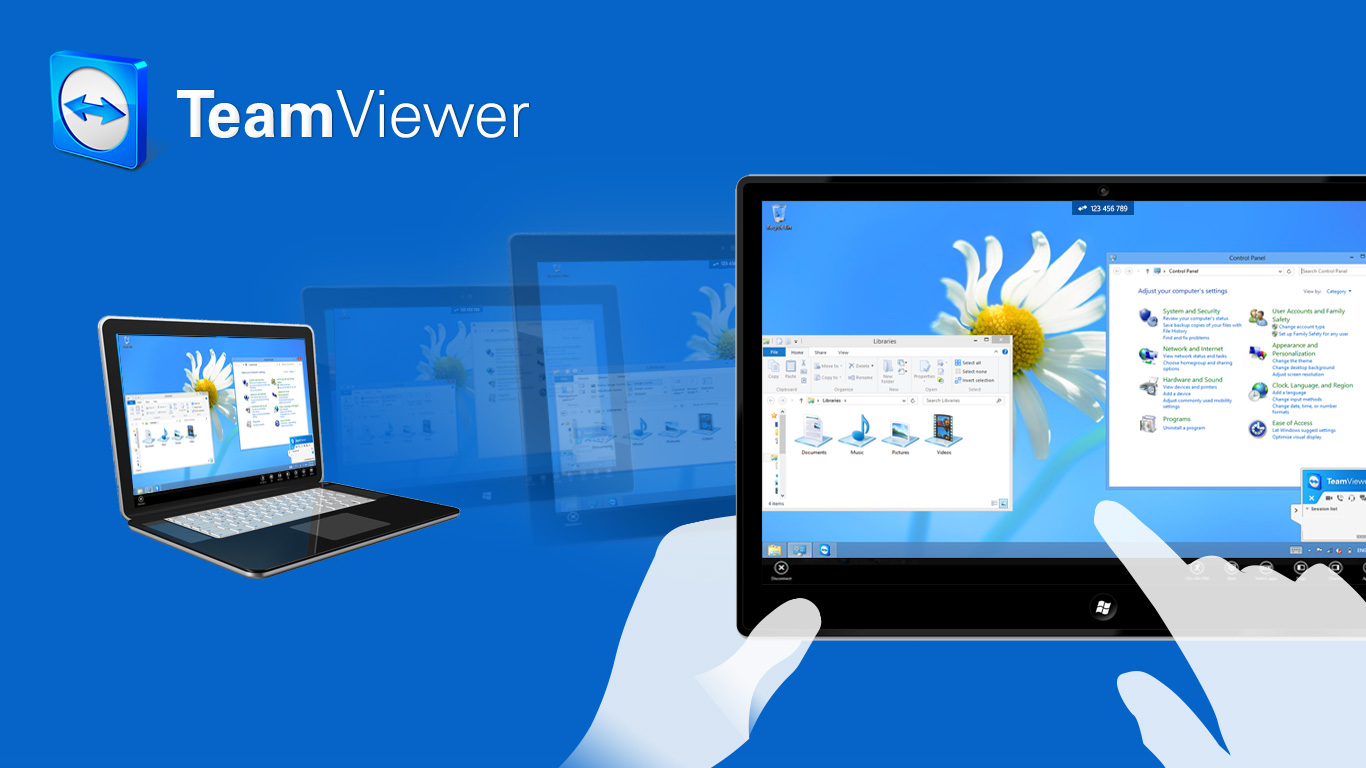 There is an increase in searching for TeamViewer in 2020